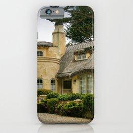 Fairytale Cottage-Style House, Carmel, Monterey County, California iPhone Case