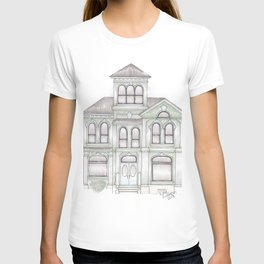 Green Italianate Victorian T-shirt