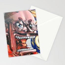Graffiti singer Stationery Cards