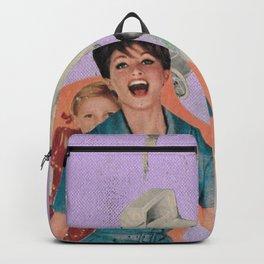 Family Car, detail 2 Backpack