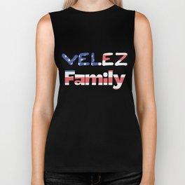 Velez Family Biker Tank