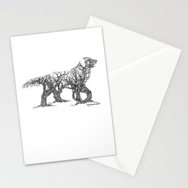 Golden Re-Tree-Ver Stationery Cards