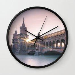 Berlin Oberbaumbridge Wall Clock