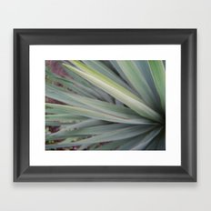 spikes Framed Art Print