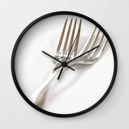 Fork&Napkin Wall Clock