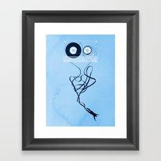 Fast Forward Framed Art Print