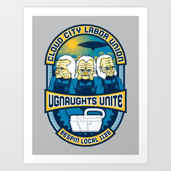 Ugnaughts Unite Art Print