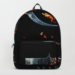 evanescence synthesis logo tour 2019 neon Backpack