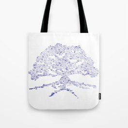 Tree of Virtues Tote Bag
