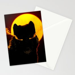 Malevolent Wolf Stationery Cards
