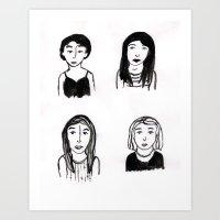 Marias Art Print