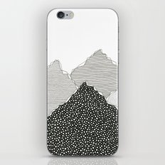 Snow Mountains iPhone & iPod Skin
