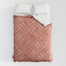 Copper Diamond Floor Comforters