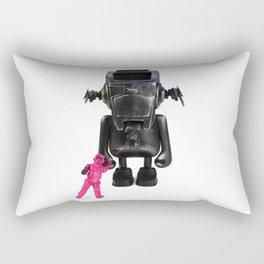 Dudebox Customs   no: 03, The Trooper Rectangular Pillow