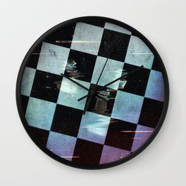 Chess of the gods Wall Clock