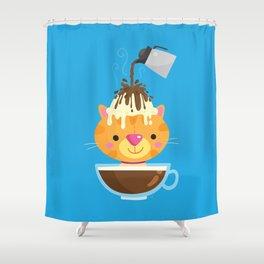 Affogato Shower Curtain