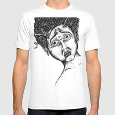 The Bug Lady MEDIUM White Mens Fitted Tee