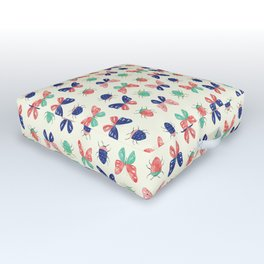 Things with Wings Outdoor Floor Cushion