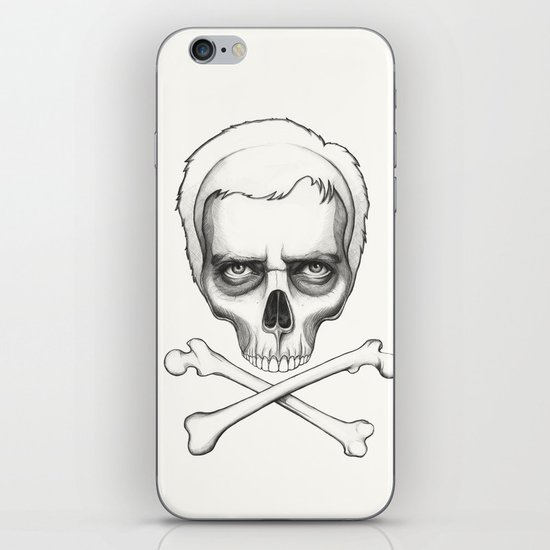 Everybody Dies - House MD Skull Crossbones iPhone & iPod Skin