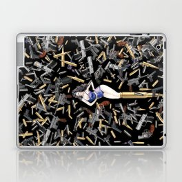 Bullet Girl Laptop & iPad Skin
