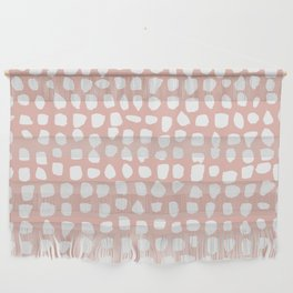 Dots / Pink Wall Hanging