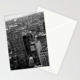 Manhattan Noir - Sky view Stationery Cards