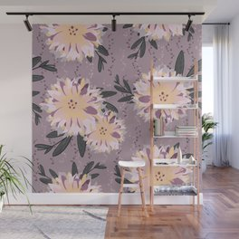 Fancy Floral Wall Mural