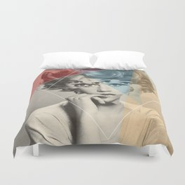 Another Portrait Disaster · with Jane Duvet Cover