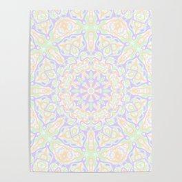 Pastel Kaleidoscope 2 Poster