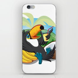 Tropical toucan iPhone Skin