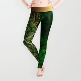 Mandala - Emerald Leggings