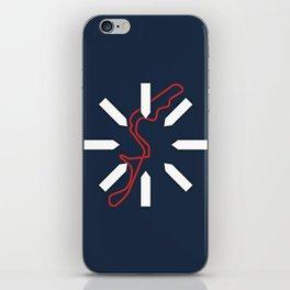 Damon Hill iPhone Skin