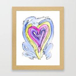 Flow Series #14 Framed Art Print