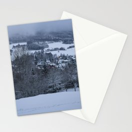 White Snowy Brotterode Stationery Cards