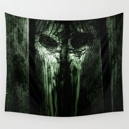 The Evil Woodboard  Wall Tapestry