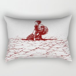 Gaara Alone Rectangular Pillow