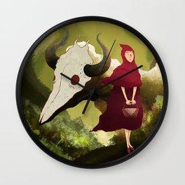 red hood Wall Clock