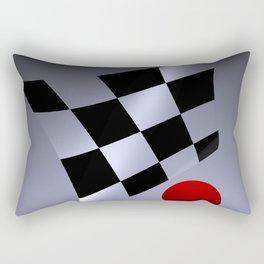 bicubic waves -3- Rectangular Pillow
