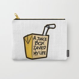 A JUICE BOX Saved my Life Diabetes Diabetic Gift Carry-All Pouch