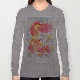 Firey Phoenix Long Sleeve T-shirt