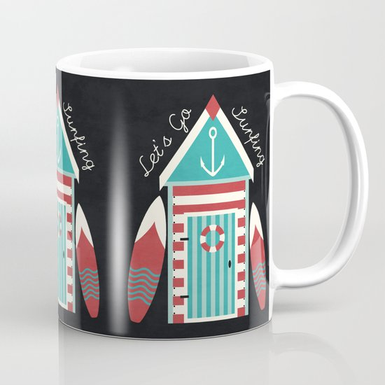 Let's Go Surfing. Mug