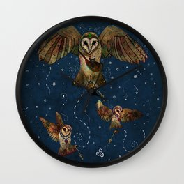 Healers Of Light Wall Clock