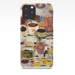 Wake Up and Smell the Coffee iPhone Case