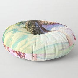 Prismatic Palm Floor Pillow