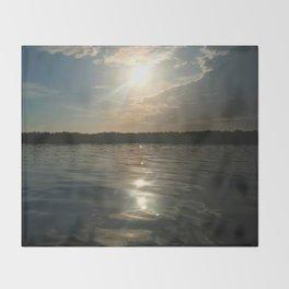River Sun Throw Blanket