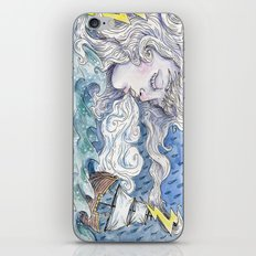 The Wind and The Sea iPhone & iPod Skin