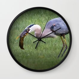 Hungry no more Wall Clock