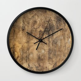 Ironworks of Old Wall Clock