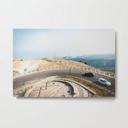 On the roof of Gargano Peninsula Metal Print