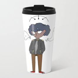 ghost boy Metal Travel Mug